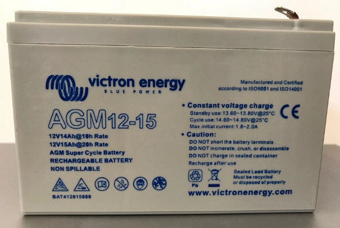 12V/15Ah AGM Super Cycle Batt. (Faston-tab 6.3x0.8mm)-big