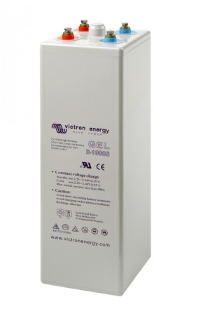 2V 1500Ah (C10) GEL 12 OPzV Tubular Plate Battery-big