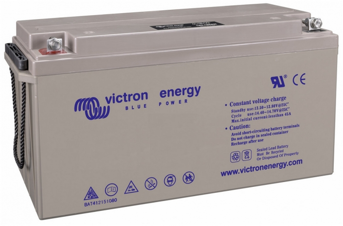 Victron Energy 12V 265Ah Gel Deep Cycle Battery (M8)-big