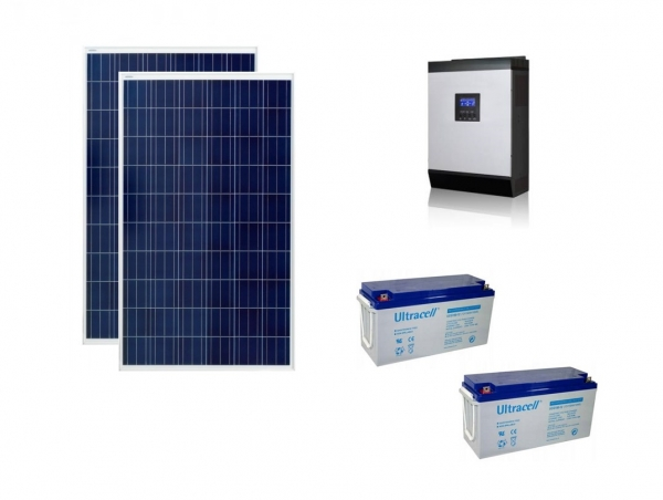 Photovoltaic System Off-grid 0.5kw Poweracu-big