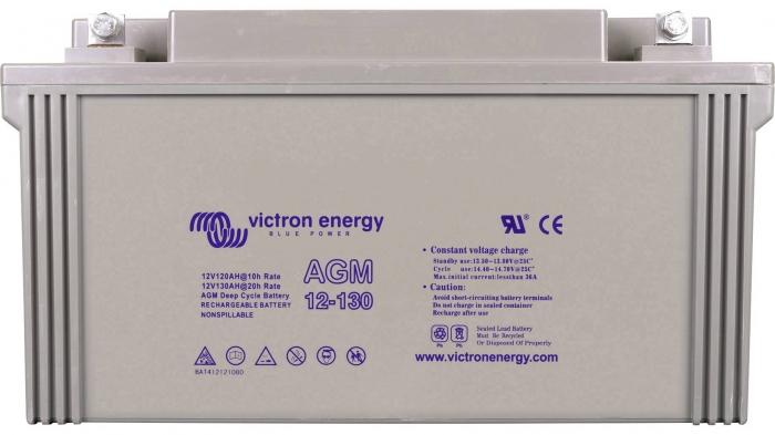 Victron Energy 12V/130Ah Gel Deep Cycle Battery-big