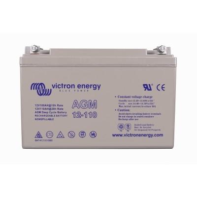 Victron Energy AGM Deep Cycle Battery 12V 110Ah-big