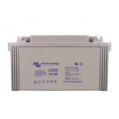 Victron Energy AGM Deep Cycle Battery 12V 130Ah-big