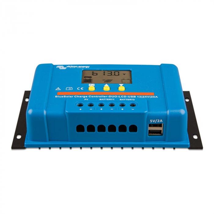 BlueSolar PWM DUO-LCD&USB 12/24V-20A-big