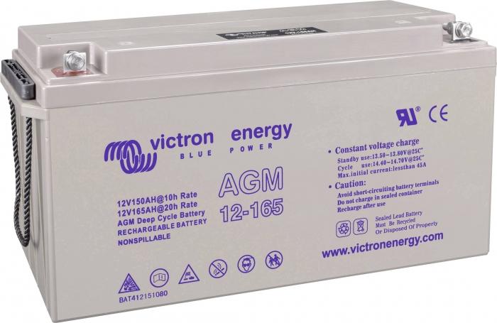 Victron Energy 12V 165Ah Gel Deep Cycle Battery-big