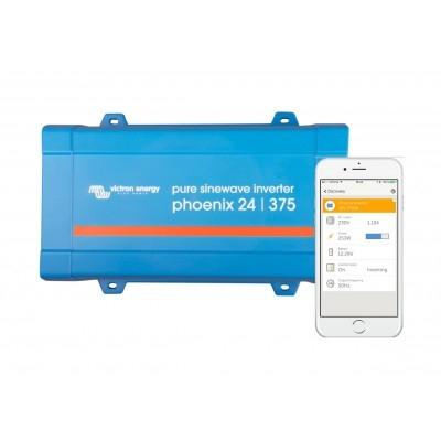 Inverter 24V 375VA Victron Energy Phoenix VE.Direct Schuko 24/375-big