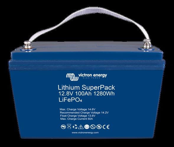 Lithium SuperPack 12,8V/100Ah (M8) High Current-big