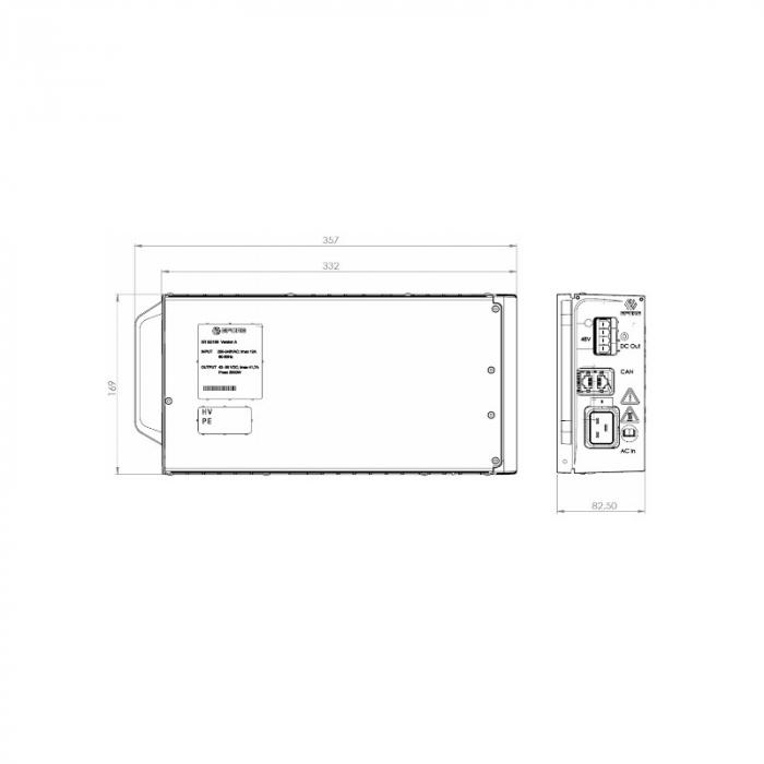 Modular Rectifier 48V 2000W EFORE-big