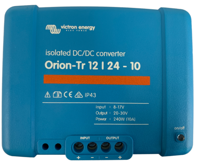 Orion-Tr 12/24-10A (240W) Isolated DC-DC converter-big