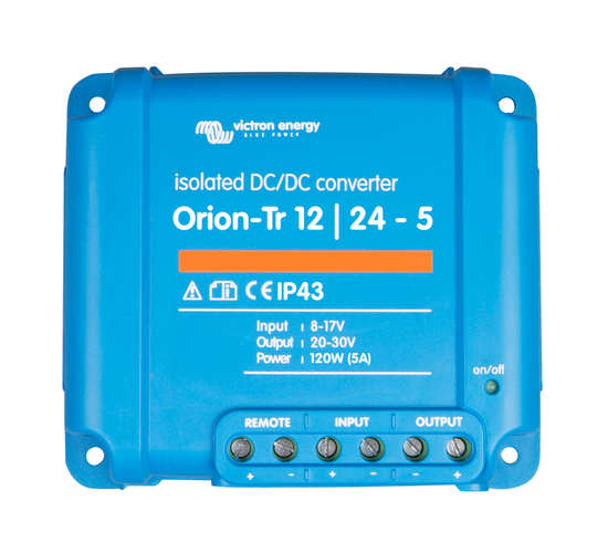 Orion-Tr 12/24-5A (120W) Isolated DC-DC converter-big
