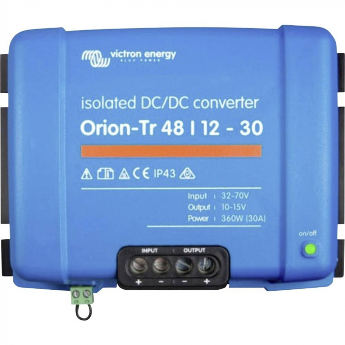 Orion-Tr 48/12-30A (360W) Isolated DC-DC converter-big