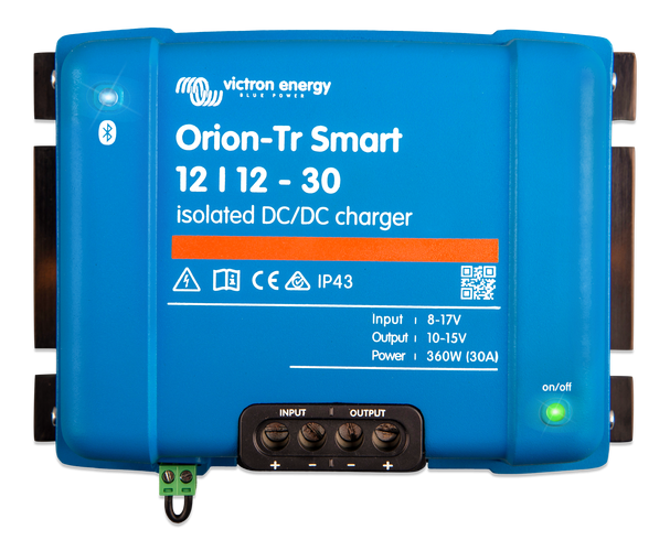Orion-Tr Smart 12/12-30A (360W) Non-isolated DC-DC charger-big