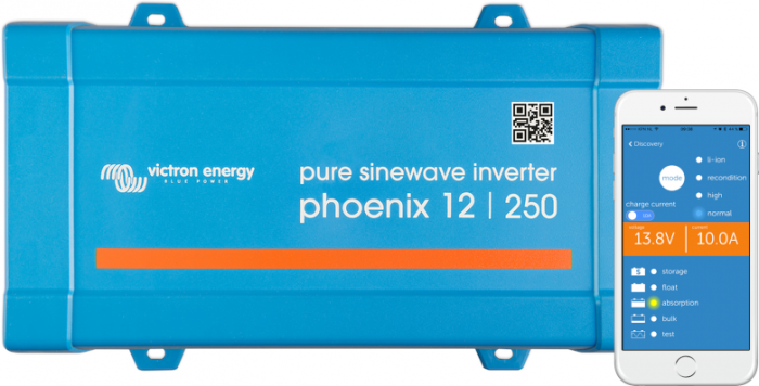 Phoenix Inverter 12/250 230V VE.Direct SCHUKO-big
