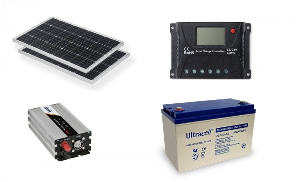 Photovoltaic System Off-grid 0.2kw Poweracu-big