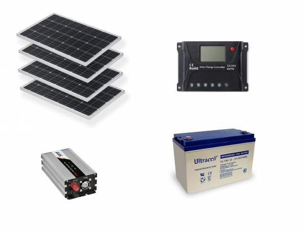 Photovoltaic System Off-grid 0.4kw Poweracu-big