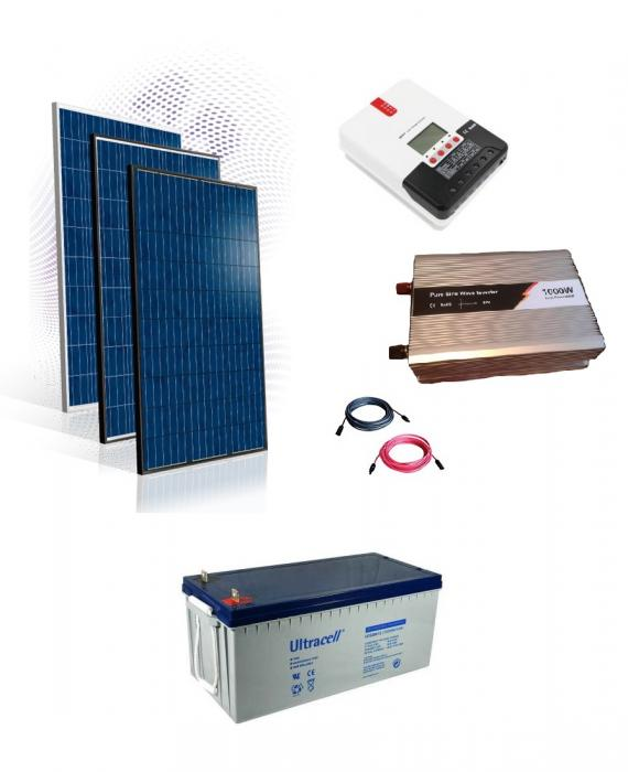 Photovoltaic System Off-grid 1kw-big