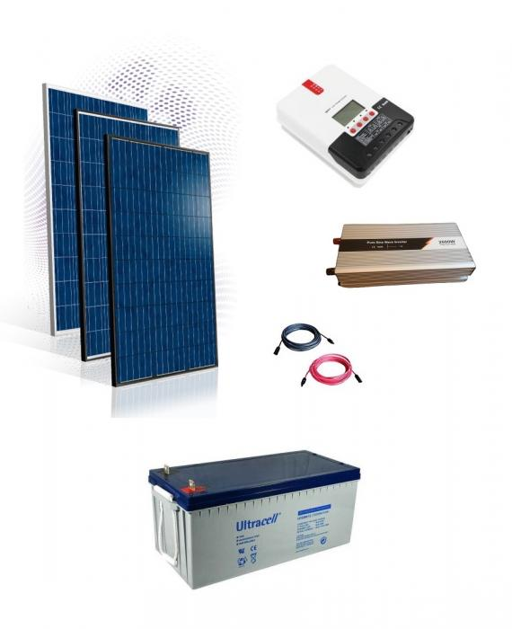 Photovoltaic System Off-grid 2 kw-big