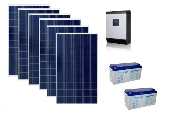 Photovoltaic System Off-grid 1.5kw Poweracu-big