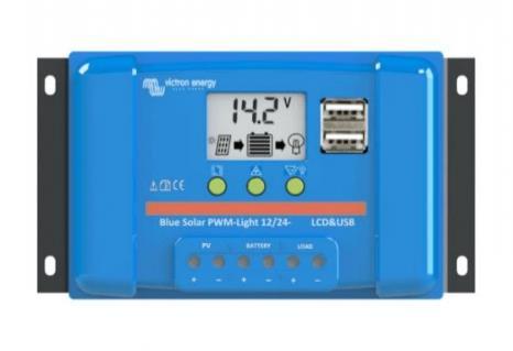 Victron Energy BlueSolar PWM LCD&USB 12/24V 5A-big