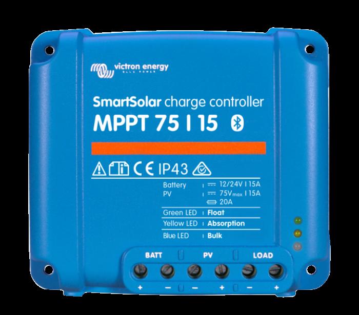 Solar Charge Controller Victron Energy Smart Solar MPPT 75/15 - SCC075015060R-big