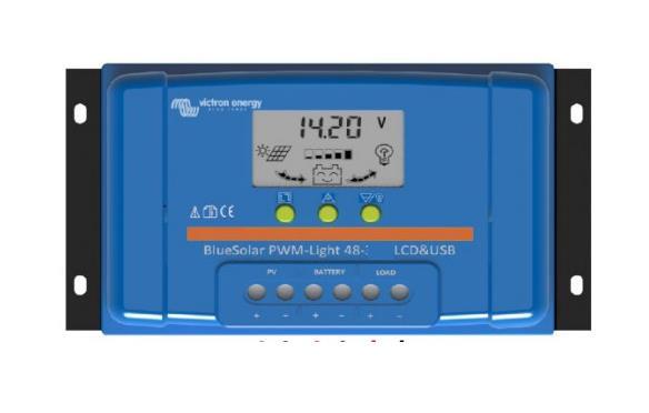 Victron Energy BlueSolar PWM LCD&USB 48V 20A-big