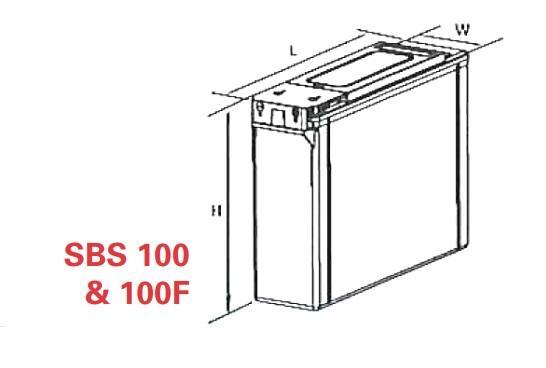 VRLA Battery PowerSafe SBS EON 12V 100 Ah SBS 100-big