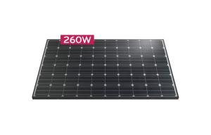 Monocrystalline Solar Panel LG260S1C-A3 - 260 Wp (MonoX)3