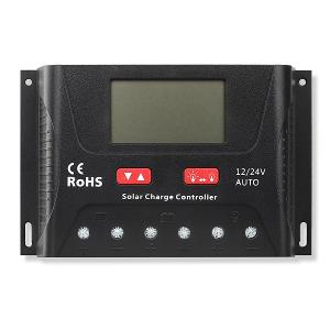 Solar charge controller Powersave PWM 30A 12/24V SR-HP24300