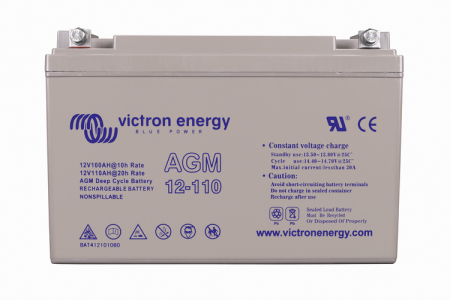 12V/110Ah AGM Deep Cycle Batt. (M8)0