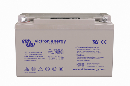 12V/110Ah AGM Deep Cycle Batt. (M8)1