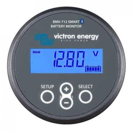 Battery Monitor BMV-712 BLACK Smart0
