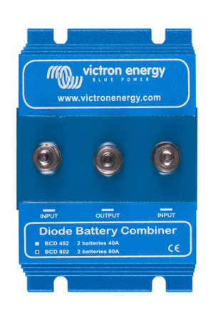 BCD 802 2 batteries 80A (combiner diode)0