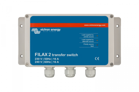 Filax 2 Transfer Switch CE 230V/50Hz-240V/60Hz1