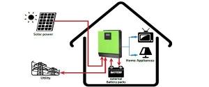 Inverter MPP SOLAR Hybrid V1012 1kva 12V 1000W1