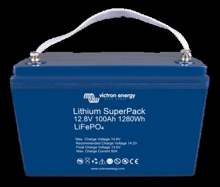 Lithium SuperPack 12,8V/100Ah (M8) High Current1
