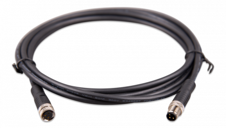 M8 circular connector Male/Female 3 pole cable 2m (bag of 2)2