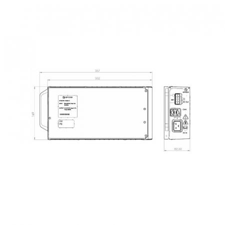 Modular Rectifier 220V 2000W EFORE1