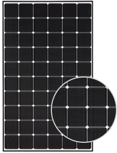 Monocrystalline Solar Panel LG NeON 2 LG355N1C-N5 355Wp1