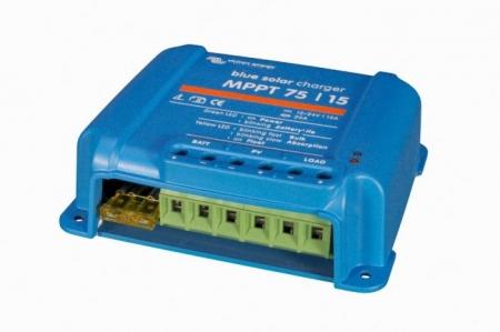 Solar Charge Controller Victron Energy BlueSolar MPPT 75/15 (12/24V-15A) - SCC010015050R1