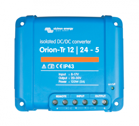 Orion-Tr 12/24-5A (120W) Isolated DC-DC converter2