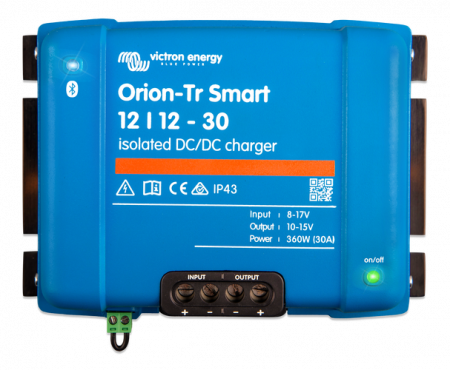 Orion-Tr Smart 12/12-30A (360W) Non-isolated DC-DC charger3