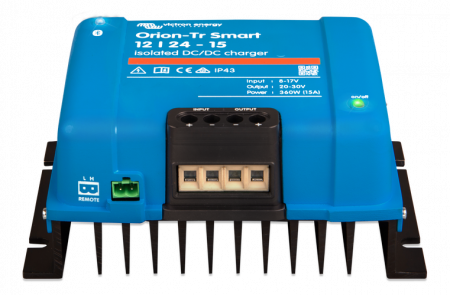 Orion-Tr Smart 12/24-15A (360W) Non-isolated DC-DC charger1