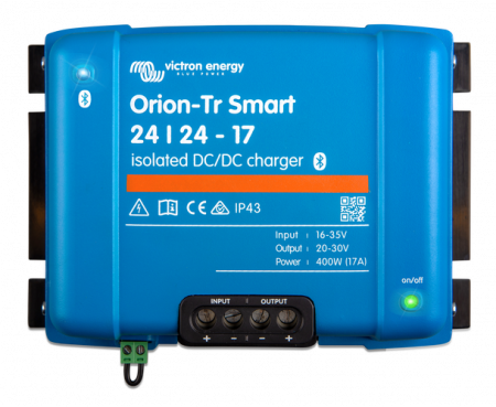 Orion-Tr Smart 24/24-17A (400W) Non-isolated DC-DC charger0