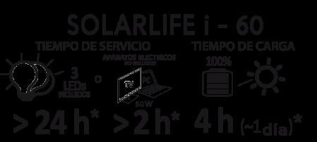 Solar Kit Xunzel SOLARLIFE 60i3