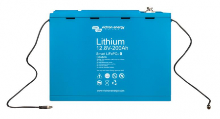 Victron Energy LiFePO4 Battery 12.8V 200Ah Smart0
