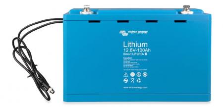 Victron Energy LiFePO4 Battery 12.8V 100Ah Smart0