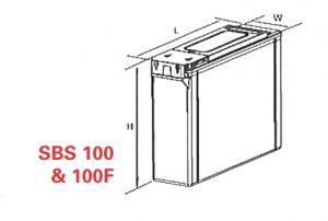 VRLA Battery PowerSafe SBS EON 12V 100 Ah SBS 1001
