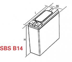 VRLA Battery PowerSafe SBS EON 12V 62 Ah SBS B141
