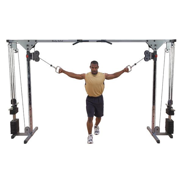 Aparat profesional pentru antrenarea tuturor grupelor musculare Crossover BODY-SOLID GCC0150S [0]