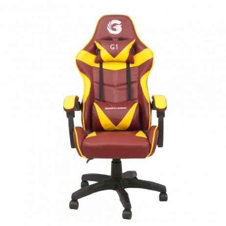 Scaun Gaming Gamer's Legend G1, Galben [0]